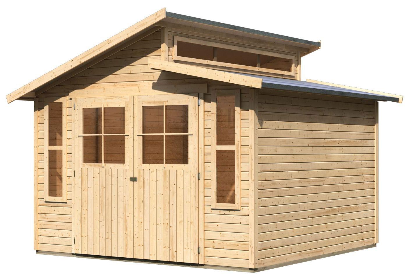 gartenhaus gr nelo grauburg g nstig kaufen online shop. Black Bedroom Furniture Sets. Home Design Ideas