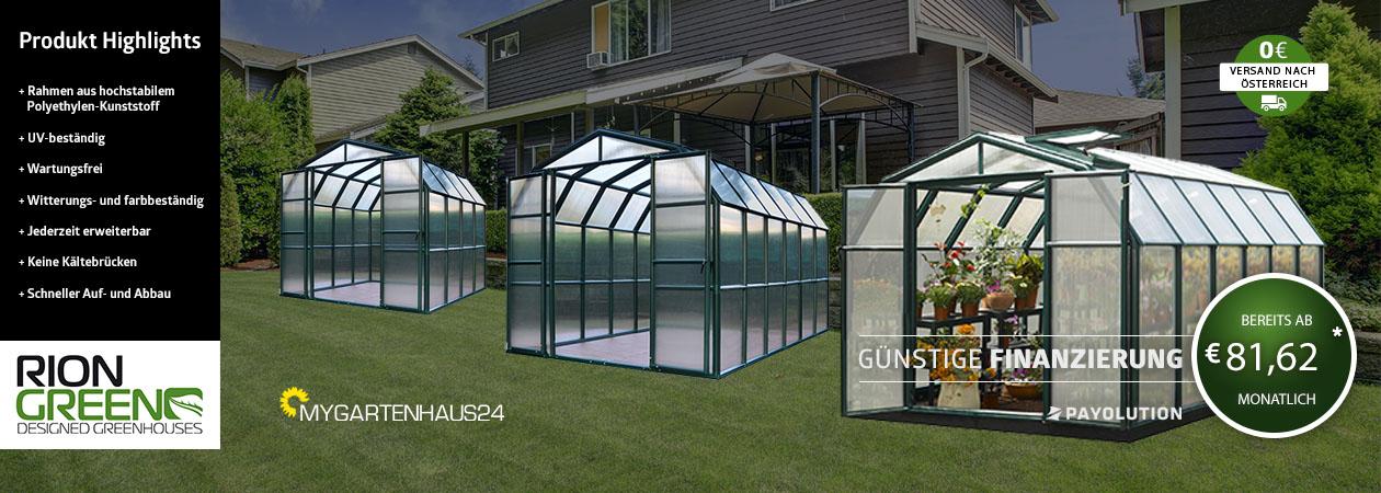 Rion Gewächshaus in Österreich kaufen von myGartenhaus24.at