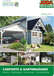 Joda Gartenhaus Katalog